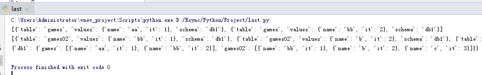 Python中字典的value是列表的运用